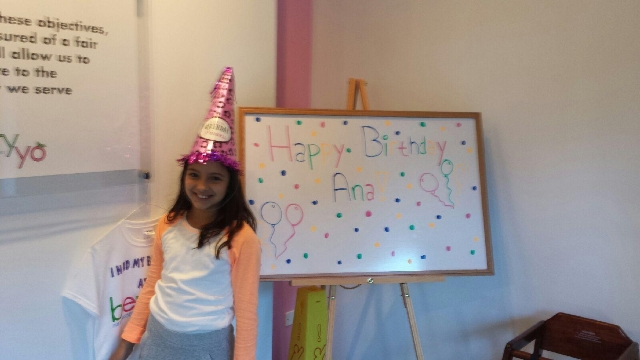 Ana's Berry Yo Birthday Party!