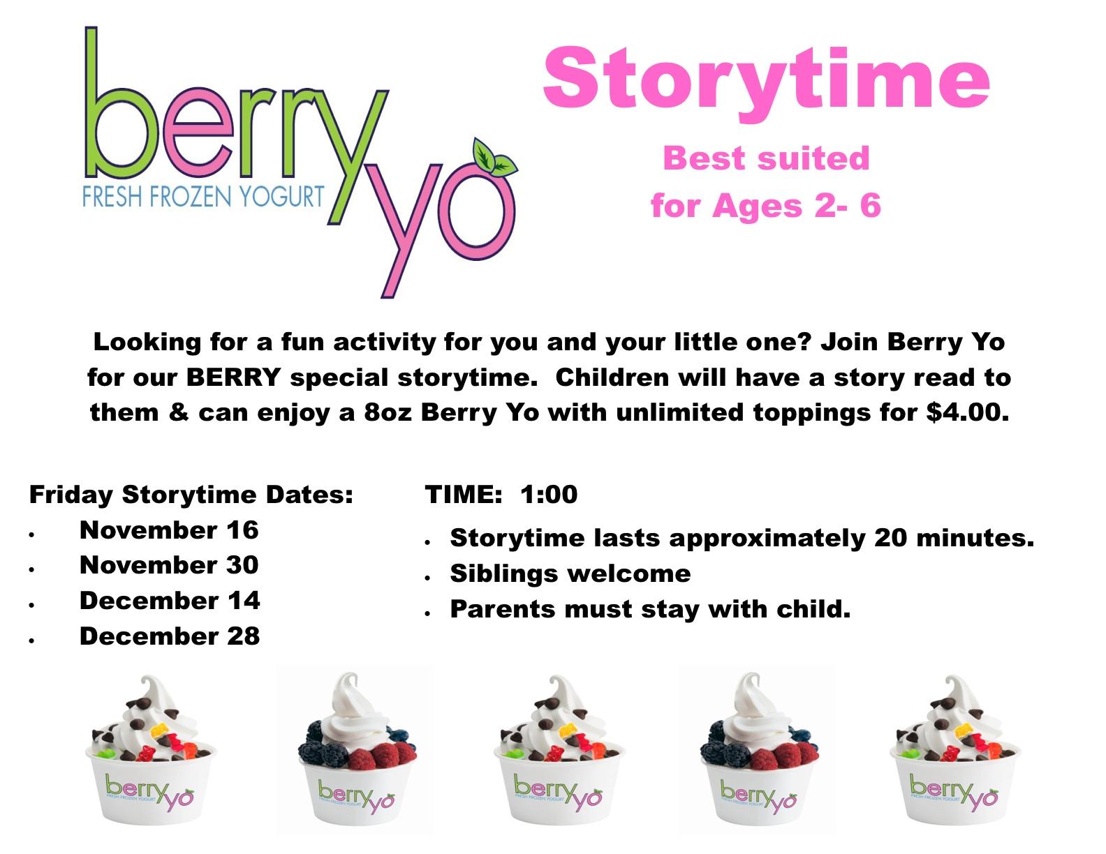 Berry Yo Storytime