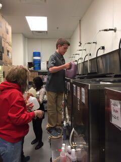 Dryden Elementary World of Work Day 2015