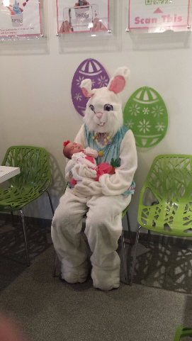 Easter Bunny Drops By Berry Yo