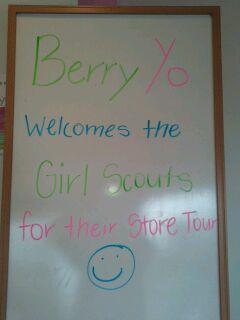 Girl Scout Troop 40676 Store Tour