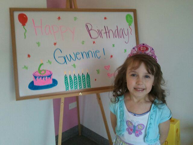 Gwennie's Berry Yo Birthday Party!