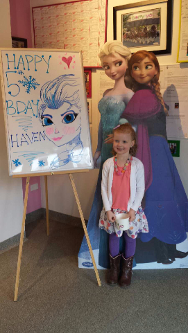 Haven's Frozen 5th Birthday Party