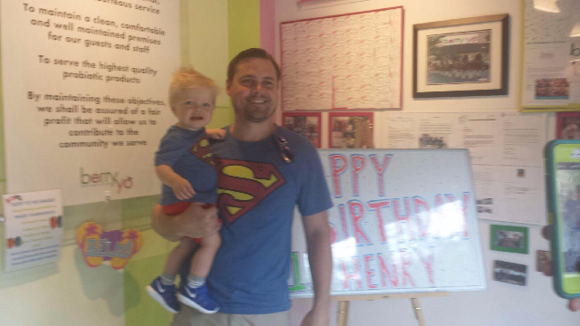 Henry's 1st Birthday!