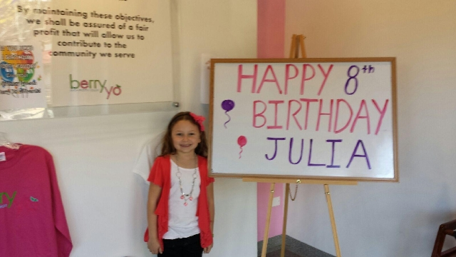 Julia's 8th Birthday Party!