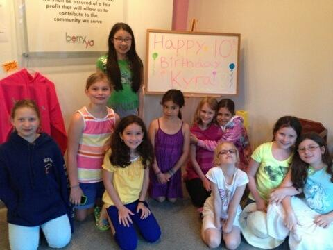 Kyra's 10th Birthday Party!