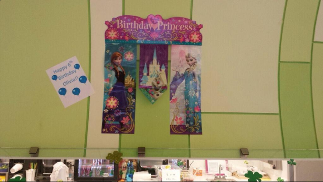 Olivia's Frozen Birthday Party!