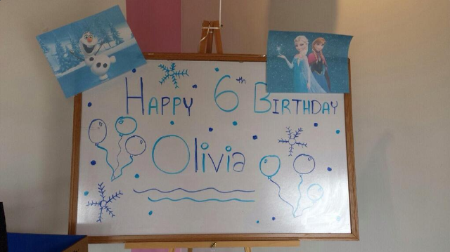 Olivia's Frozen Birthday Party!