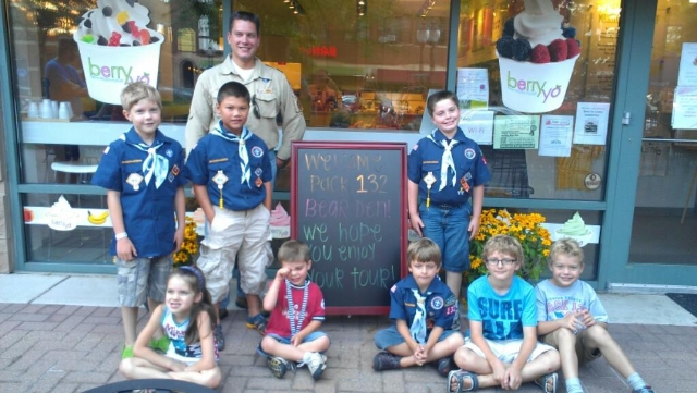 Pack 132 Bear Den Store Tour