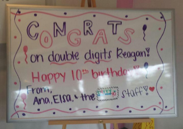 Reagan's 10th Birthday Party
