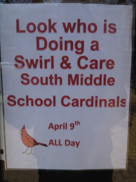 South Middle School Swirl & Care