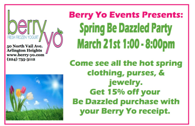 Spring Be Dazzled Party