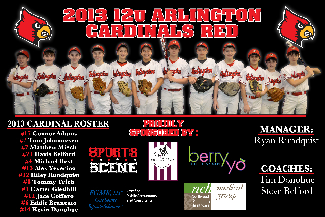 Summer 2013 Sponsored Teams