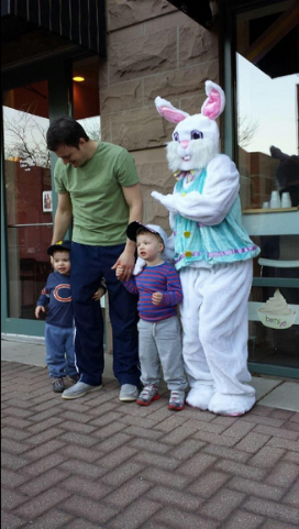 The Easter Bunny Comes To Berry Yo!