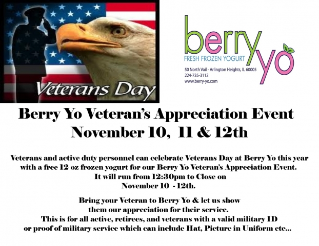 Veterans Appreciation Event